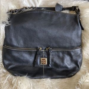 Large leather dooney and bourke bag